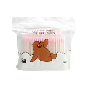 Paquete de hisopos de algodón, Chico - We Bare Bears