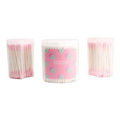Paquete De Cotonetes Rosas 3 Piezas