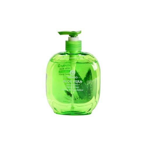 Jabón antibacterial, áloe vera, Verde, Grande