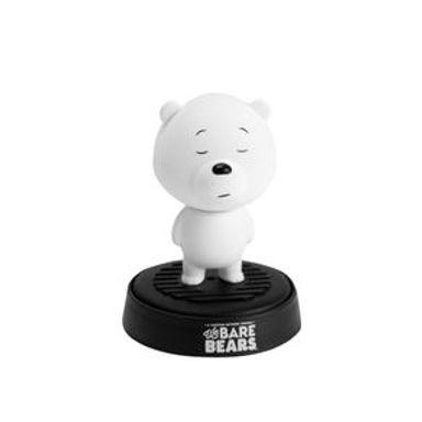 Aromatizante Para Auto We Bare Bears We Bare Bears De Cabeza Movible (Polar Ocean) Blanco