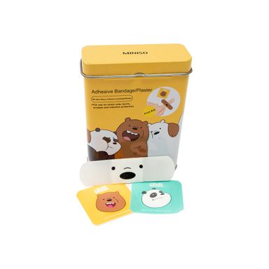 Banditas Adhesivas We Bare Bears 30 Piezas