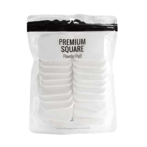 Almohadillas Cuadradas Blancas 20 Piezas