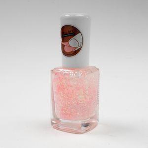 Esmalte Para Uñas Con Brillos A Base de Agua  Durazno 12 ml