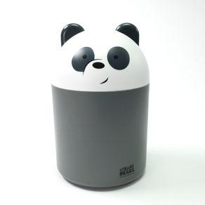 Bote de basura para escritorio, Multicolor, Mediano - we bare bears