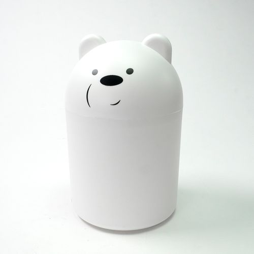 Bote de basura para escritorio, Multicolor, Mediano - we bare bears