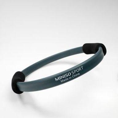 Aro De Resistencia MINISO Sports Para Pilates Azul Oscuro 32.5x32 cm
