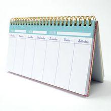 Planeador semanal arcoíris