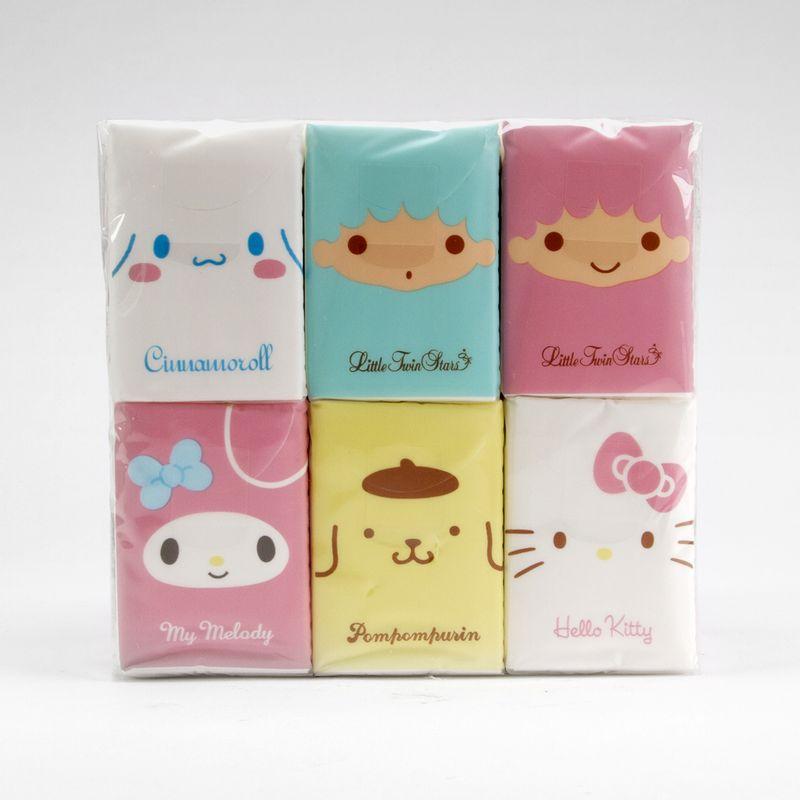 Paquete-de-pañuelos-desechables---Sanrio-Multicolor-Mediano-1-1440
