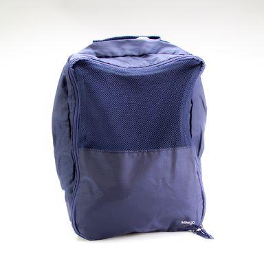 Organizador  Minigo De Calzado Para Viaje 2 Azul Marino