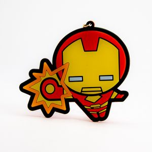Llavero de Iron Man, Multicolor, Chico