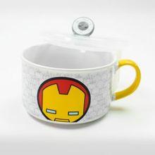 Taza de cerámica, Iron Man, Multicolor, Grande