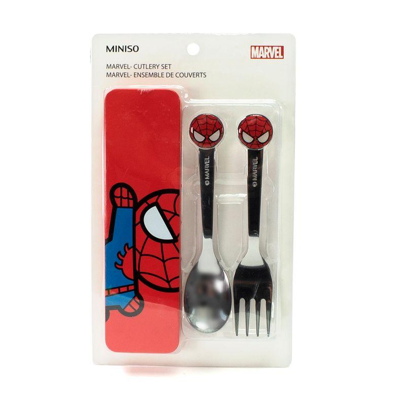 Set-de-Cubiertos-Cuchara---Tenedor-Spider-Man---Marvel-1-1857