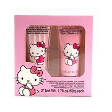 Set de crema para manos, Hello Kitty, Rosa, Mediano