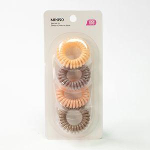 Paquete de ligas para cabello, Multicolor