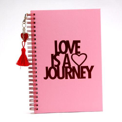 Libreta de notas con espiral, San Valentín
