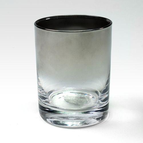 Vaso de vidrio, Negro, Chico