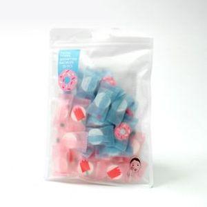 Toallitas Faciales Comprimidas Portátiles Candy Series Limpieza Facial Multicolor 35 Piezas