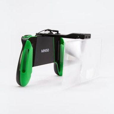Soporte De Control Para Juegos Con Lupa, Verde