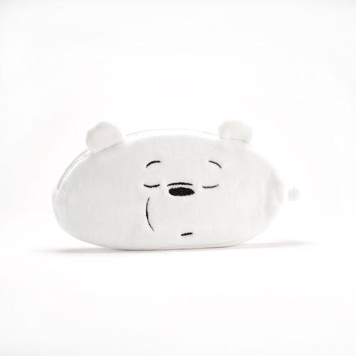 Lapicera con cara de Ice Bear, Blanca, Mediana