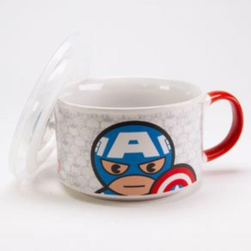 Taza-de-ceramica-Capitan-America---Marvel-Multicolor-Grande-2-1825