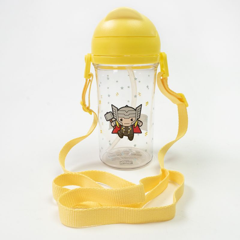Botella-de-plastico-Thor---Marvel-Amarilla-Mediana-1-1733