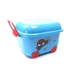 Carrito organizador V1, Spider Man, Azul/Rojo