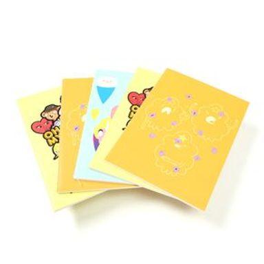 Paquete De Libretas De Notas Adventure Time A6 De Colores 5 Piezas