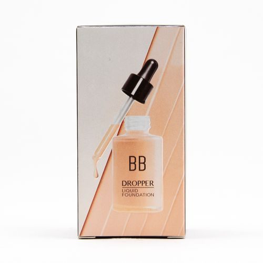 Base de maquillaje líquida, BB, Beige, Mediana