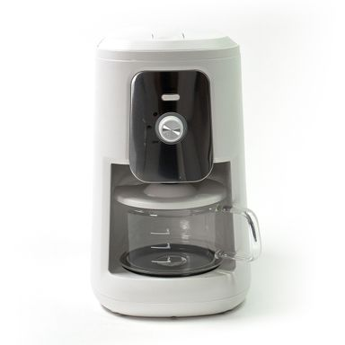 Cafetera Con Molino Integrado Blanca 900w, Capacidad Para 4 Tazas