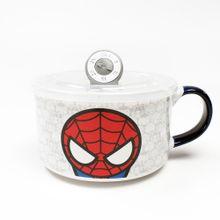 Taza de cerámica, Spider Man, Multicolor, Grande