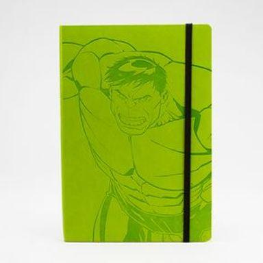 Libreta Rayada Marvel Hulk 21.4x14.7 cm 72 hojas