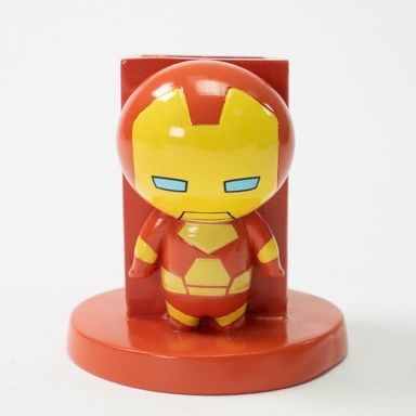 Soporte Marvel Iron Man Para Bolígrafos, 9 x 9 cm