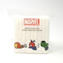 Paquete de almohadillas de algodón, Blanco, Chico