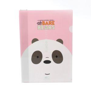 Paquete de folder, Rosa/azul, Mediano - We Bare Bears