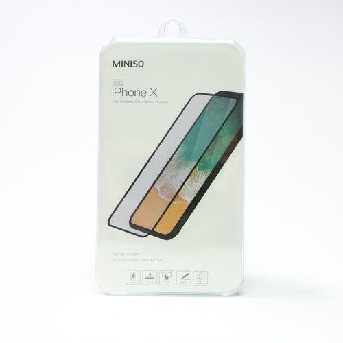Mica de cristal templado 2.5d para iPhone X
