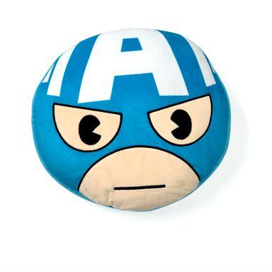 Cojín Suave Marvel Capitán América Redondo 36 cm