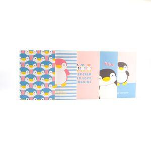 Paquete De Libretas Penguin A6 5  piezas