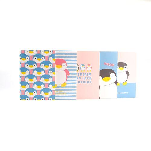 Paquete de libretas de notas, Multicolor, Mediano