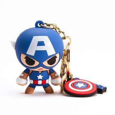 Llavero Marvel Capitán América 3D Azul