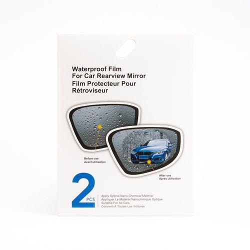 Mica protectora de espejo retrovisor para automóvil