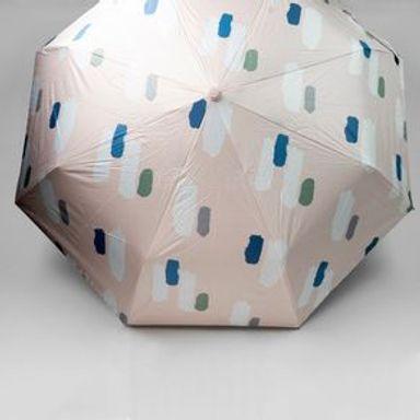 Paraguas Uv Multicolor, Acabado Pincelado