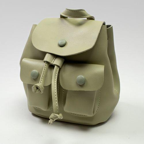 Mini mochila, Verde, Chica