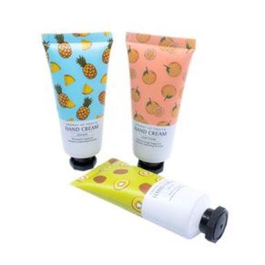 Set De Cremas Energy Fruits Piña, Naranja y Kiwi Para Manos 3 Piezas