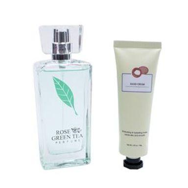 Perfume Y Crema Para Manos Té Verde 50 ml