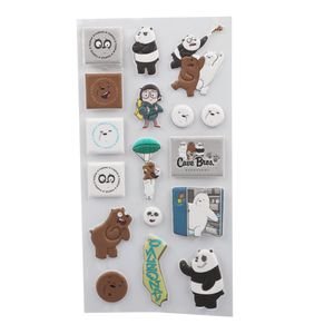 Sticker De Goma  We Bare Bears