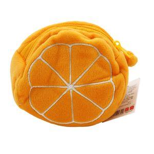Monedero Fruit Series Naranja Tipo Peluche