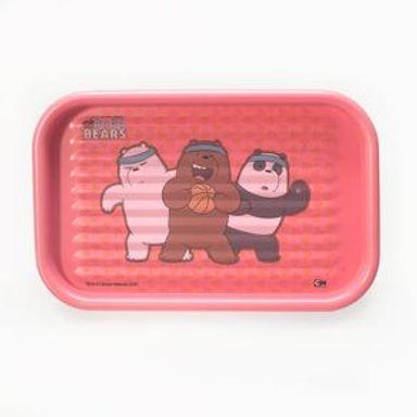 Organizador   We Bare Bears Panda, Polar Y Pardo Papelera Polipropileno