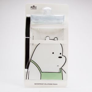 Funda impermeable para celular, Ice Bear, Multicolor, Chica
