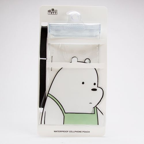 Funda impermeable para celular, Ice Bear, Multicolor, Chica