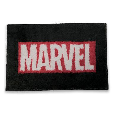 Tapete Marvel Rectangular Negro 60x40 cm